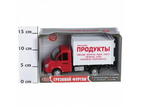 Машинка инерционная грузовик Продукты LT9077-A