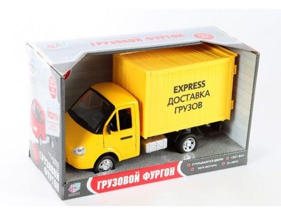 Машинка инерционная Play smart грузовик Экспресс доставка LT9077-E