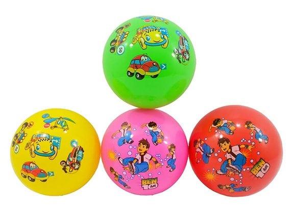 Детский резиновый мяч диаметр 23 см RO-16872