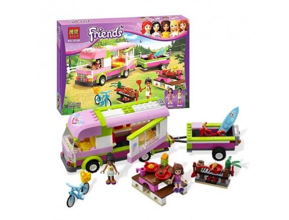 Конструктор Friends «Оливия и домик на колёсах»