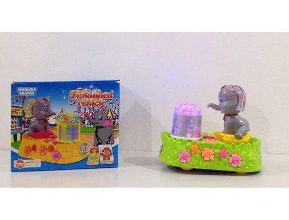 Игрушечный слоник на бат. 296-5