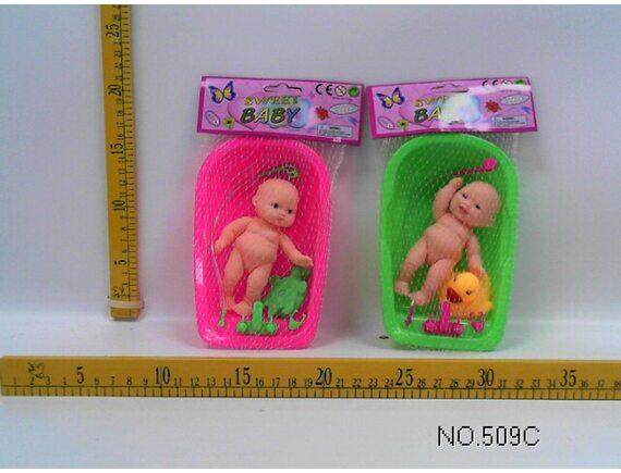 Кукла-пупс в ванночке (в сетке) Артикул: 509C
