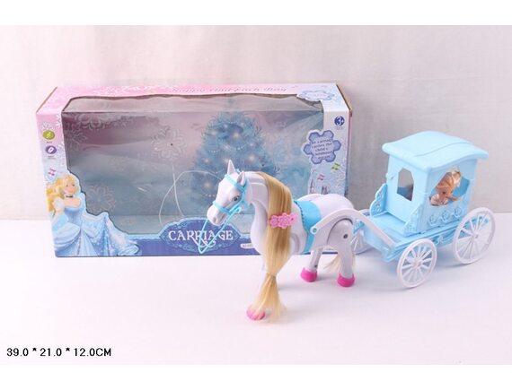 Набор «Принцесса в карете с лошадью» Артикул: 686-729