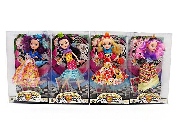 Кукла шарнирная с аксессуарами (4 вида) Артикул: DH2093-1.5