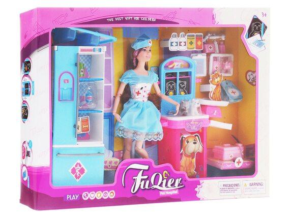 Игровой набор с куклой «Больница для животных» Артикул: JX100-29