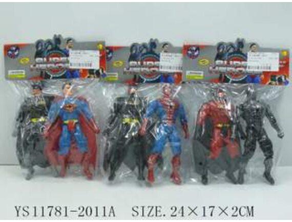 Набор из двух героев в пакете Артикул: 2011A