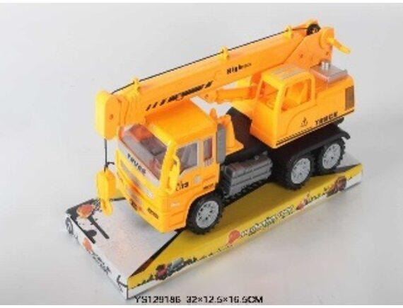 Инерционный грузовик с краном. Артикул: 2058