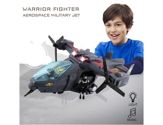 """Детский военный вертолет """"Warrior Fighter"""" Артикул: 286-12"""