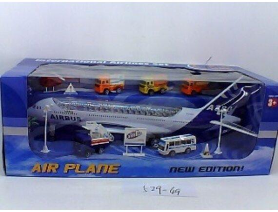 Инерционный пассажирский самолет