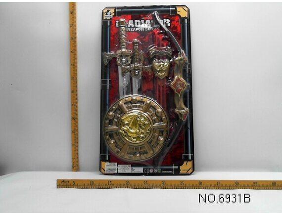 Набор оружия «Гладиатор». Артикул:  6931B