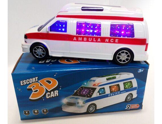 Машинка скорой медицинской помощи. Артикул: 8339