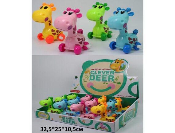 Заводной жирафик (12 шт. в уп.) (цена за упаковку) Артикул: 632