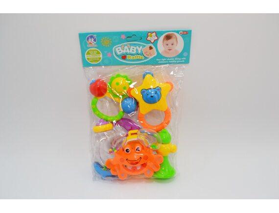 Набор погремушек Baby Rattle 999-11