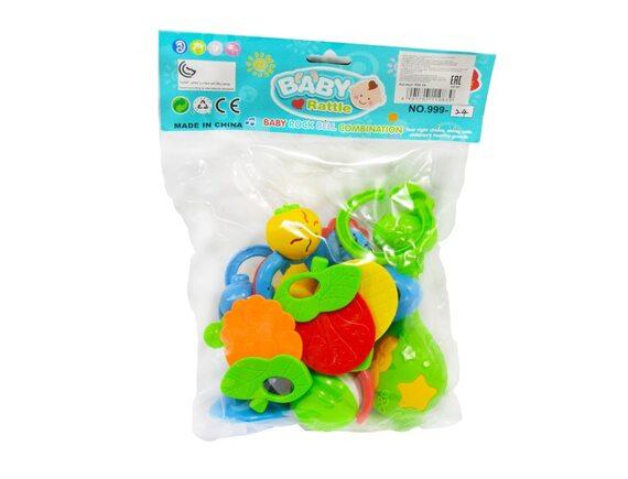 Набор погремушек  Baby Rattle 999-24