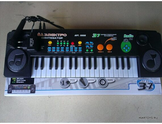 Детский синтезатор Артикул: 0886