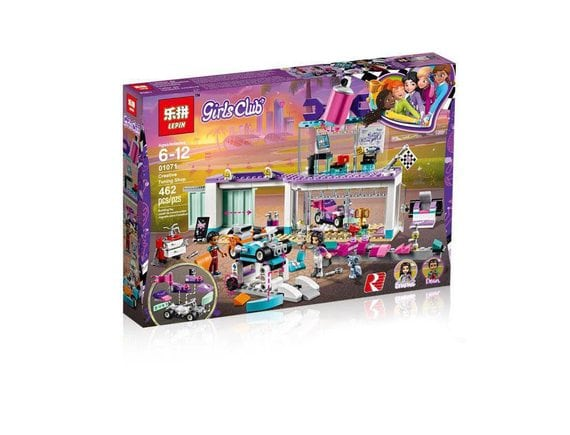 Конструктор LEPIN Girls Club Автомастерская 01071