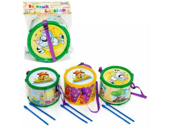 Детская игрушка барабан MASTERPLAY 1-004