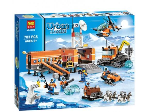 Конструктор BELA Urban Арктическая база 10442