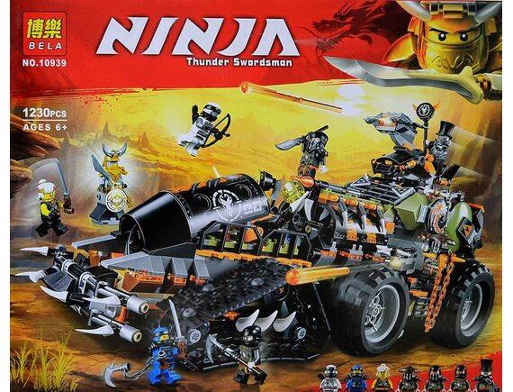 Конструктор Bela Ninja Стремительный странник   10939