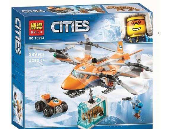 """Конструктор Bela Cities """"Арктический вертолёт"""" 10994"""