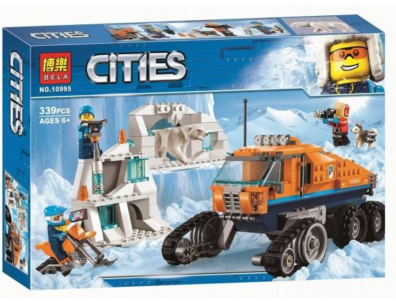 Конструктор Bela Cities Грузовик ледовой разведки 10995