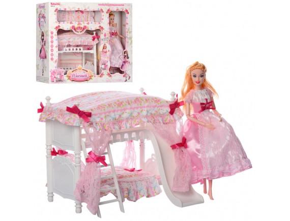 """Мебель с куклой """"Спальня"""" 6951-A"""