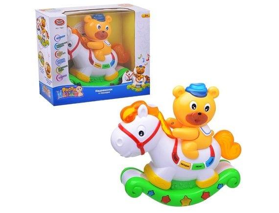 """Интерактивная игрушка """"Медвежонок и лошадка"""" Артикул: 7481"""