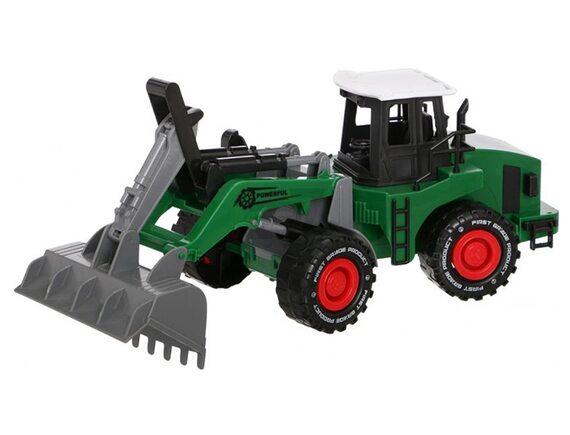 Инерционный трактор-экскаватор. Артикул: 7988-14