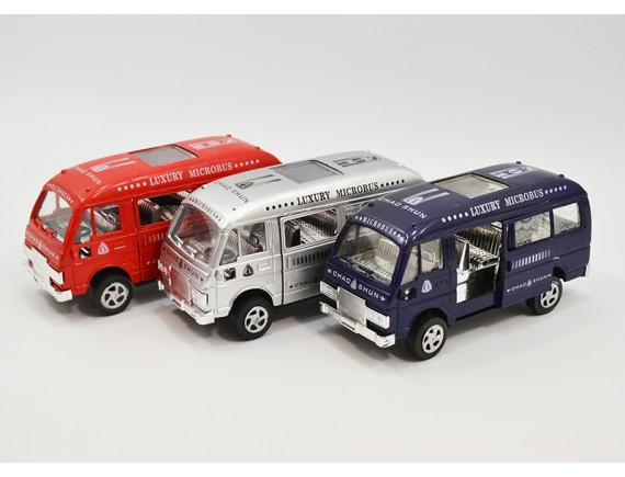 Фрикционный автобус Luxury Microbus 8014