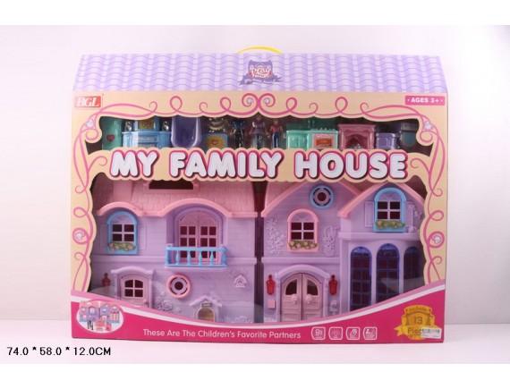 Кукольный домик со звуком и светом  80310