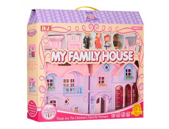 Кукольный домик My Family House  80612