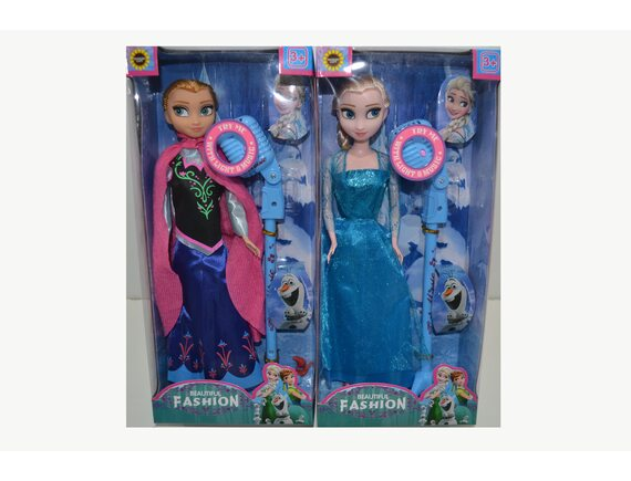 """Музыкальная кукла """"Frozen """"с аксессуарами 829-325"""