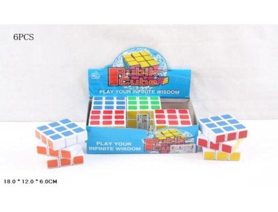 Кубик Рубика (6 шт. в уп.) (цена за уп.) Артикул: 851A