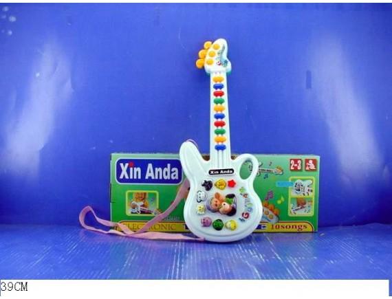 Детская гитара ( свет, звук) Артикул: HK-956