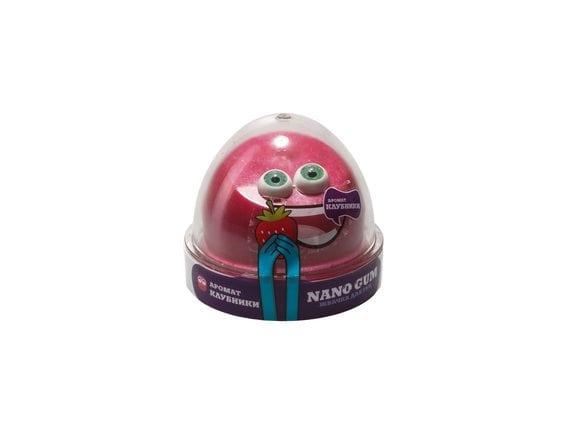 """Пластилин для лепки """"Жвачка для рук """"Nano gum"""", аромат клубники"""", 50 гр NGAK50"""