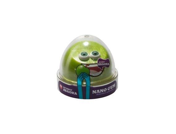 Жвачка для рук NANO GUM аромат яблока 50 гр NGAZY50