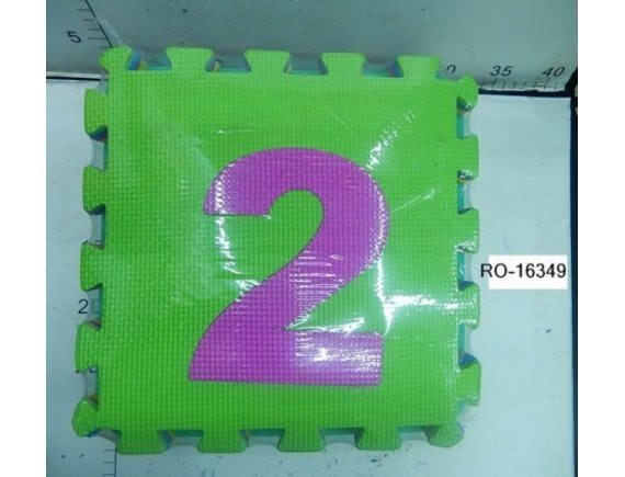 """Коврик-пазл """"Цифры"""" 29x29 см. RO-16349"""