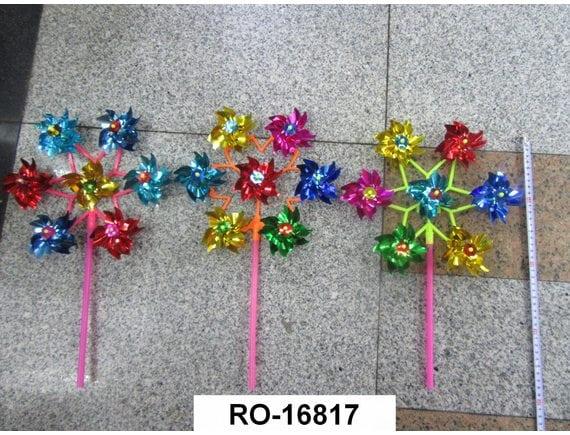 Ветрячок Цветочек 28 см RO-16817