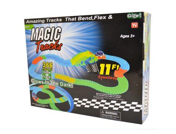 Гоночный светящийся трек Magic Track 366 RO-16843