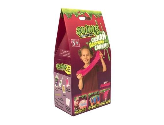 """Малый набор для девочек Slime """"Лаборатория"""", розовый, 100 гр SS100-2"""