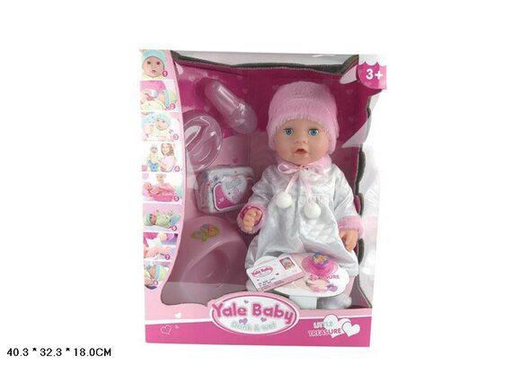 Интерактивная кукла-пупс с одеждой и аксессуарами Артикул: YL1899L