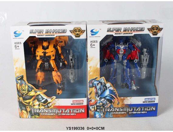 Трансформер-робот Праймбот и Бамбл Би . Артикул: 81501