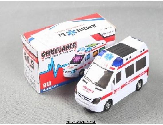 Машина скорой помощи на бат.