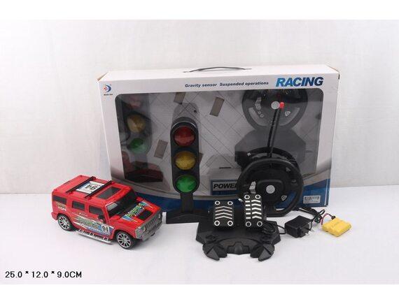 Джип-Хаммер на радиоуправлении  с рулем и педалями. Артикул: RD520A-6