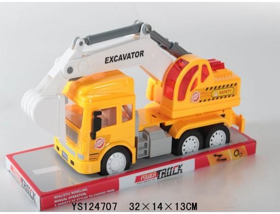 Инерционный строительный грузовик