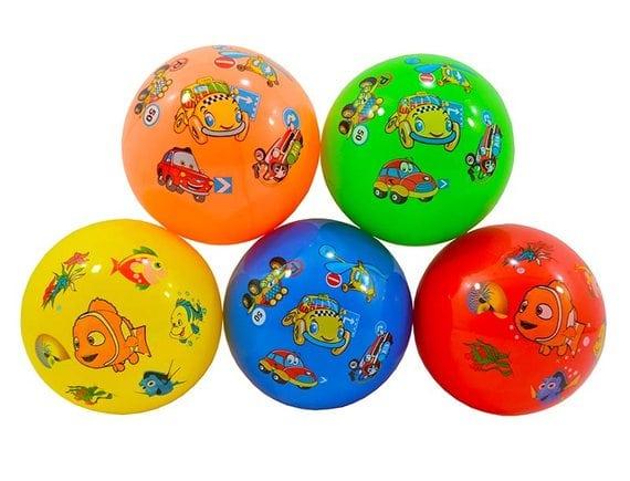 Детский резиновый мяч диаметр 23 см. Артикул: RO-16295