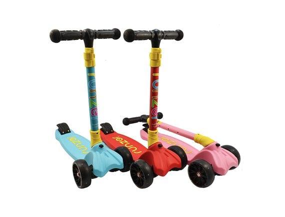 Детский  складной  самокат RUNZER (3 цвета). Артикул: RO-16752