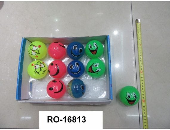 Мяч-прыгун 6,5см. (4 вида) Артикул: RO-16813